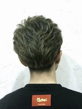 ヘアーデザインエスケープラス(HairDesign SK Plus)の写真/最新のセンス抜群メンズスタイル☆自分史上最高にカッコ良く!!パーマやカラーでデザイン性のあるスタイルへ