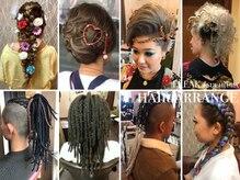 フリーク 土浦店(FREAK)の雰囲気(Partyは勿論、盛りまで幅広くヘアセット可能です。Black hair◎)