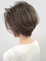 ソース ヘア アトリエ 京橋(Source hair atelier)【SOURCE】3Dグレージュショート