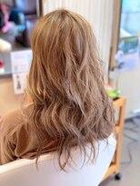 ヘアーメイク リボーン ムーヴ(hair make re:bbon move)ハイライト&スモーキートパーズ