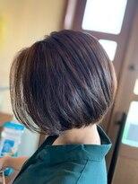 ヘアーシー(HAIR C,)[HAIR C shoichi]丸みミニーボブ