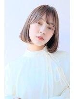 ガリカ(Gallica kinshicho)『 グレージュ × 毛束感 』小顔 切りっぱなしボブ☆