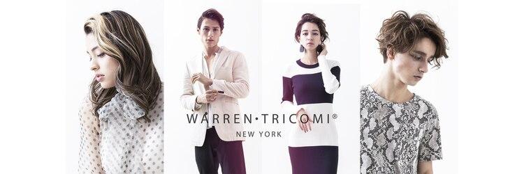 ウォーレントリコミニューヨーク ハービスエント大阪梅田店(WARREN TRICOMI NEW YORK)のサロンヘッダー
