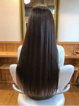 ヘアー ルーム ロル(Hair room LOL)の写真/【カット+プレミアムトリートメント¥6500】パサつきが気になる方には…ワンランク上のトリートメントを♪