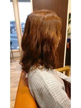ヘアー クリエイション(Hair Creation)ローグラデーションパーマ