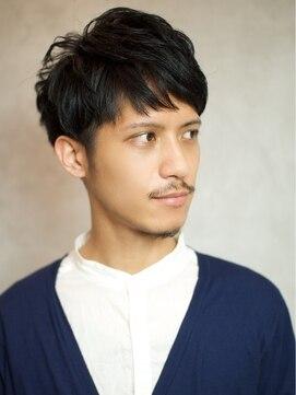 ベック ヘアサロン(BEKKU hair salon)爽やかマッシュ、ツーブロックショート!黒髮で男度アップ!!