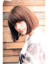 ミンクス ハラジュク(MINX harajuku)ストレートボブ ワンレン 丸顔 芸能人 前髪 30代