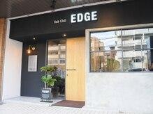 ヘアー クラブ エッジ(Hair club EDGE)の雰囲気(シックでお洒落な外観★)