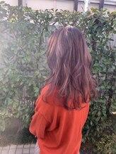 モードケーズ 長岡京店(Hair&Nail MODE K's)若い女の子に大人気! 柔らかさのあるピンクブラウン