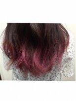 ヘアーアンドメイク ポッシュ 新宿店(HAIR&MAKE POSH)ワインレッド*グラデーションカラー