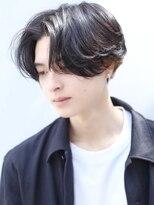 リップスヘアー 銀座(LIPPS hair)サラッと決めるニュアンスパーマハンサムショート