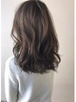 デジタルパーマセミロング巻き髪とろみワンカール