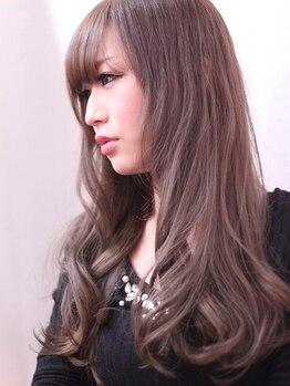 レコードヘア(Record Hair)の写真/【25時まで営業☆】ダメージレス外国人風ダブルカラー¥11980!外国人のような透明感のある色味に