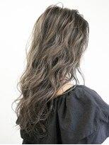 オーブ ヘアー ニコラ 大橋店(AUBE HAIR nicola)【AUBE HAIR】ソフトベージュレイヤーロング_ ローライト