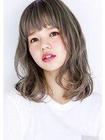 ヘアサロン ガリカ 表参道(hair salon Gallica)『 グレージュグラデ 』×『 オン眉 』 外国人風 小顔 ミディ ☆