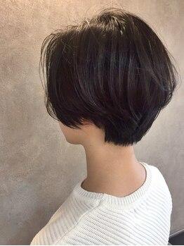ヘアアンドスパ メロウ(hair and spa mellow)の写真/髪質,顔の輪郭を見極めてライフスタイルに合わせたあなただけの似合わせスタイルをご提案◆