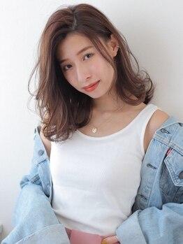 トリ 渋谷店(Tori)の写真/カット+カラー¥4100/カット+イルミナカラー¥6500!厳選のダメージレス薬剤で、理想のカラーに☆髪質改善も◎