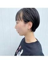 キルト(kilto.)前髪パツッと耳掛けショート