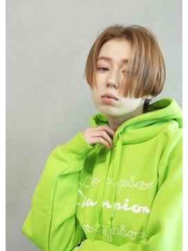 エヌ(N / 92co.)N/92co. ジョンコナー風ショートヘア