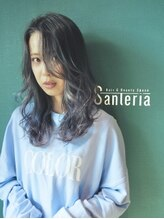 サンテリア(Santeria)【Santeria トモダ】毛先は柔らかペールトーンにグラデーション