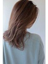 リコ ヘアアンドリラクゼーション(LICO HAIR&RELAXATION)【LICO】ミルクベージュ ミディアム