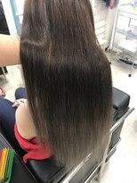 マーメイドヘアー(mermaid hair)外国人風カラーでグラデーション☆