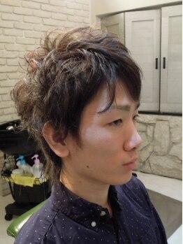 ヘアースタジオ チェイング(HAIR STUDIO CHAING)の写真/メンズから圧倒的支持を得るサロン。「個性を出したい」「流行のstyleになりたい」男性店長が応えます!