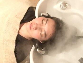 エルロンバイマフェ(AILERON by mahae)の写真/【健やかな髪を育む】絶妙な力加減で癒しの炭酸ヘッドスパ♪種類も豊富◎[和泉府中]