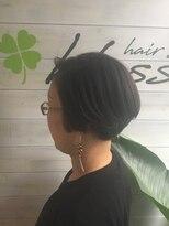 ブレス ヘアアンドスパ 湘南台(bless hair spa)首と背筋が綺麗に見えるボブ スタイリング時間6分