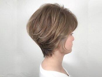 ウィロー(WILLOW)の写真/<京橋/都島>髪本来の美しさに『おしゃれ白髪染め』暗くなりすぎない♪/髪質改善&酸熱トリートメントも◎