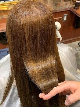 ベルヘアー あびこ店(Belle hair)の写真/TOKIOトリートメント導入サロン!髪の芯から補修し、潤い溢れる最上級の美髪へと髪質改善♪