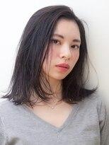 《hair make No.8・中村》大人かわいい ミディ