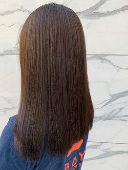 フランヘアーアート(franc hair art)の写真/大人気!『ハイグレード縮毛¥7400~』『ナチュラOrganic縮毛+資生堂デジパ+カット¥13000』嬉しいプライス♪