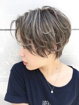 ティー(tea)【tea hair design】極細ハイライト/babylights
