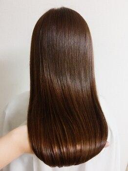 アエル(A/E/R)の写真/美を追求する本物志向の女性へ☆髪質改善メニュー充実!お悩み別にオーダーメイドでご提案致します♪