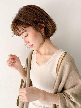 テンバイシオミエイチ(10 by shiomi H)の写真/有名モデル愛用サロン★雑誌に多数掲載の人気stylistが丁寧にカウンセリング!ハイセンスなスタイル提案も◎
