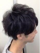 マクロヘアー(macro hair)ナチュラルモードスタイル