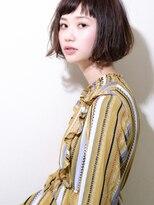 MY hair design 春髪ボブ