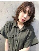 ラノバイヘアー(Lano by HAIR)【Lano by HAIR】関亜梨佐 黒髪暗髪アッシュ小顔ミディアム