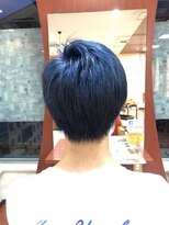 ジップヘアー(ZipHair)Zip Hair ★メンズ×ネイビー★