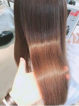シウ(shiwu)の写真/透明感&質感をKeep!!蓄積ダメージをも美髪に変える高い技術で理想を実現。より美しく魅せるスタイルへ