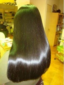 リンクフォーヘアー(Link for hair)の写真/縮毛矯正はみな同じと思っていませんか?☆キララ・エステ縮毛矯正☆で本物の艶、潤いを実感【公津の杜】