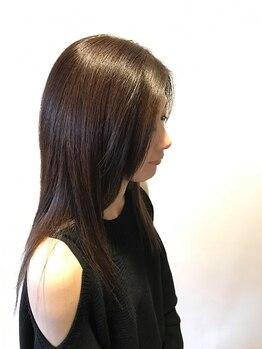 ヘアープレイス ガガ(Hair place GAGA)の写真/髪の状態を見極めた丁寧な施術でリピーター多数★負担を最小限に抑えるのでカラーも楽しめます!