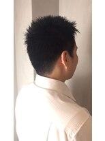 ビジネス ビジカジ 短髪 刈り上げ ネープレス