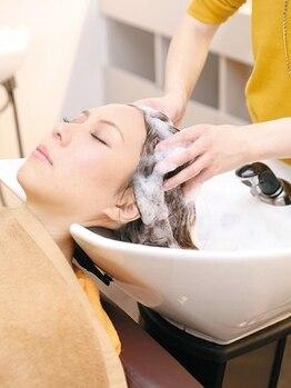 ビーグレイスヒロミ(be Grace HIROMI)の写真/【可児市 NEW OPEN】髪質改善<髪のソムリエ>在籍■眠る人が続出の[極上スパ]で小顔×リフトアップ♪