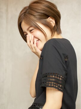 ベック ヘアサロン(BEKKU hair salon)『美シルエット☆』大人可愛いエレガントショートでふんわり感♪