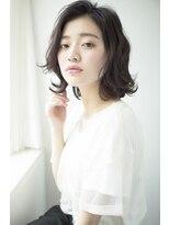 【fossette銀座】外国人風ゆるウェーブ×暗髪アディクシーカラー