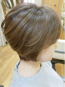 ヘアーモード ケーティー ピュール(Hair Mode KT Purl)の写真/【トコトン髪に優しくありたい方に…】オーガニックカラーで、しっかりとケアを意識♪ヘアケア商品も充実!