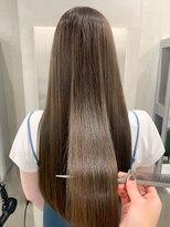 エイチスタンド 渋谷(H.STAND)渋谷*くせ毛.うねり解消*大人かわいい*ココアブラウン*Shuri