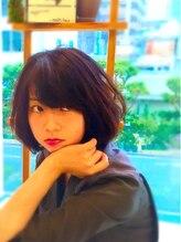 モッズ ヘア 清水店(mod's hair)ふんわりスゥイートボブ